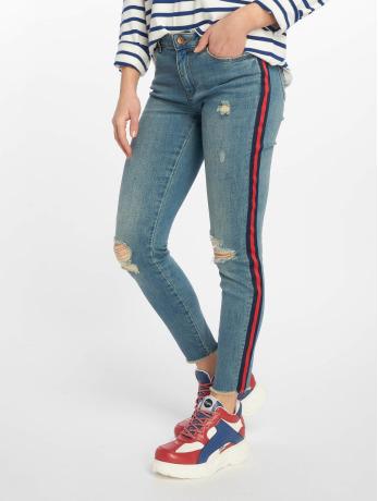 only-frauen-skinny-jeans-onlcarmen-in-blau