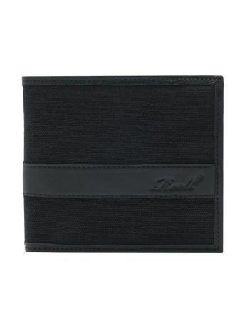 reell-jeans-manner-geldbeutel-reell-jeans-canvas-leather-in-schwarz