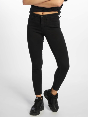 noisy-may-frauen-skinny-jeans-nmkimmy-in-schwarz