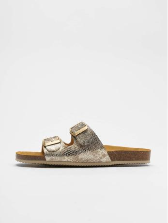 pieces-frauen-sandalen-pccoco-suede-in-goldfarben
