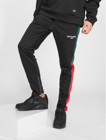 sixth-june-manner-jogginghose-stripe-in-schwarz