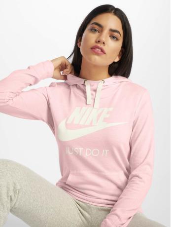 nike-frauen-hoody-sportswear-gym-vintage-in-pink