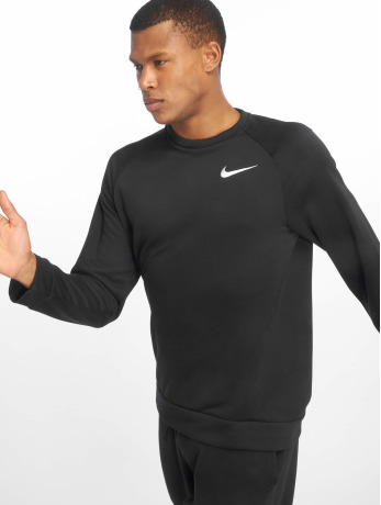 nike-performance-manner-sportshirts-dry-fleece-in-schwarz