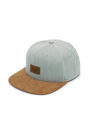 reell-jeans-manner-frauen-snapback-cap-suede-6-panel-in-blau