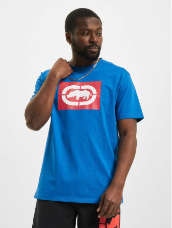 ecko-unltd-manner-t-shirt-base-in-blau