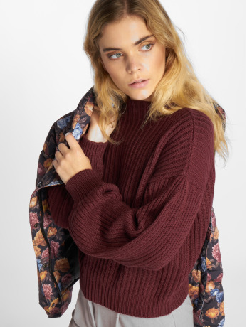 na-kd-frauen-pullover-balloon-sleeve-knitted-in-violet