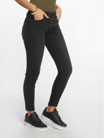sublevel-frauen-skinny-jeans-denim-in-schwarz