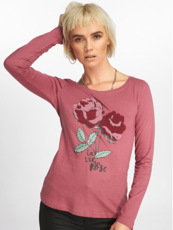 urban-surface-frauen-longsleeve-rose-in-rosa