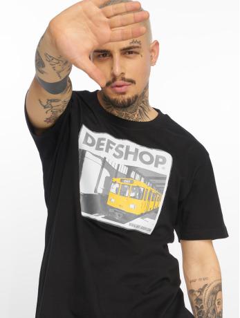 def-merch-manner-t-shirt-merch-in-schwarz