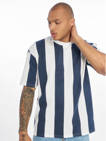 only-sons-manner-t-shirt-onshurry-oversize-striped-in-blau