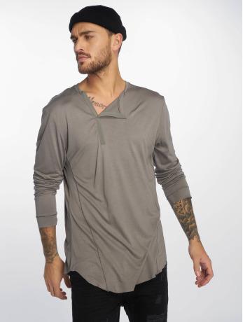 vsct-clubwear-manner-longsleeve-cut-collar-in-grau