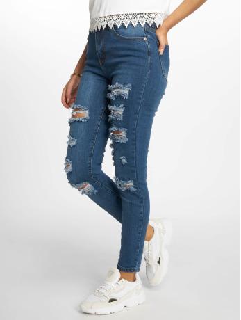 glamorous-frauen-skinny-jeans-diana-in-blau