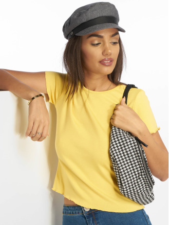 glamorous-frauen-t-shirt-classico-in-gelb