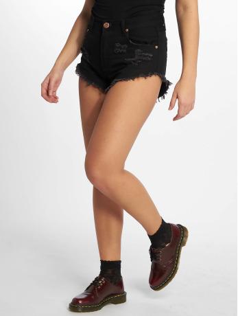 glamorous-frauen-shorts-ladies-in-schwarz