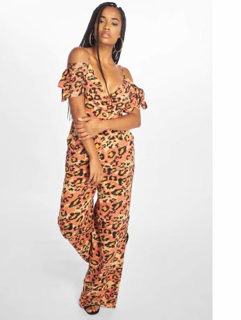 glamorous-frauen-jumpsuit-ladies-in-orange