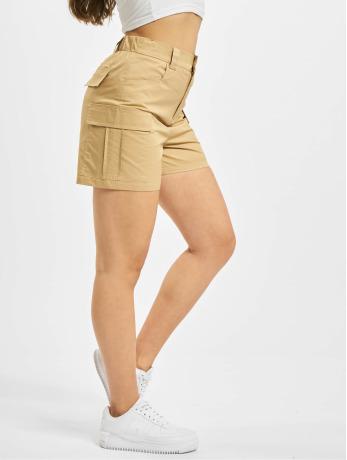 glamorous-frauen-shorts-ladies-in-beige