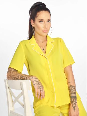 glamorous-frauen-hemd-ladies-in-gelb