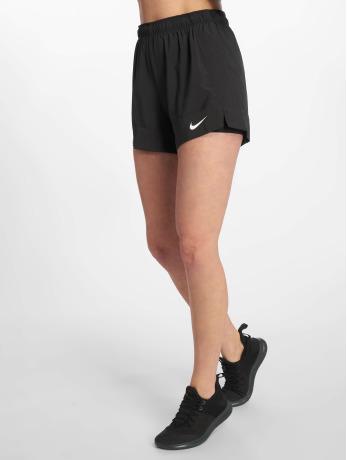 nike-performance-frauen-sport-shorts-2-in-1-flex-in-schwarz