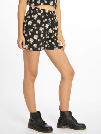 pieces-frauen-shorts-pcbinea-in-schwarz