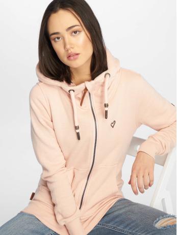 alife-kickin-frauen-zip-hoodie-yasmin-in-rosa