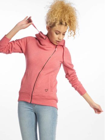 alife-kickin-frauen-zip-hoodie-snakecharmer-b-zip-in-pink