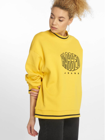 the-ragged-priest-frauen-pullover-yellow-embroidery-in-gelb