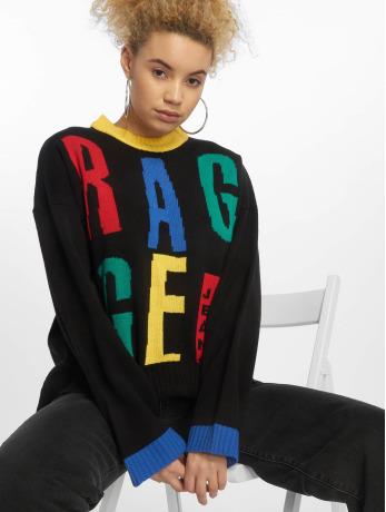 the-ragged-priest-frauen-pullover-slogan-in-schwarz