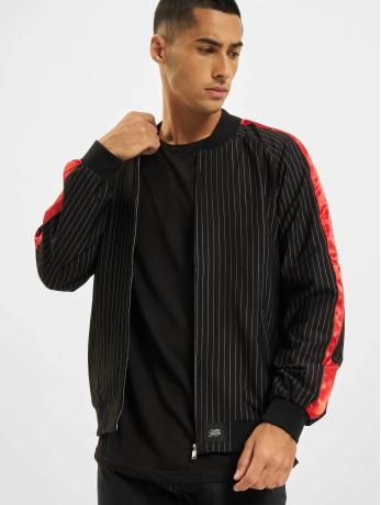 sixth-june-manner-ubergangsjacke-stripes-baseball-in-schwarz