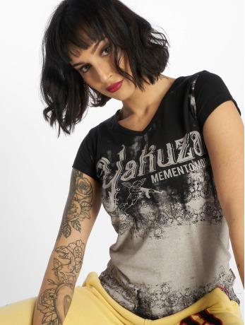 yakuza-frauen-t-shirt-gradient-in-schwarz