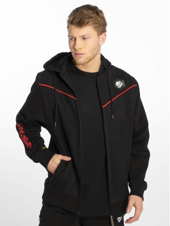 amstaff-manner-zip-hoodie-karas-in-schwarz