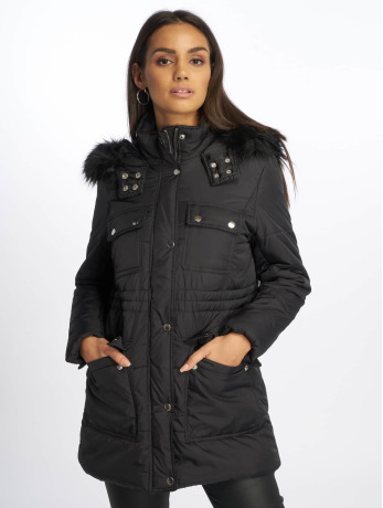 new-look-frauen-puffer-jacket-ll-seattle-ski-in-schwarz