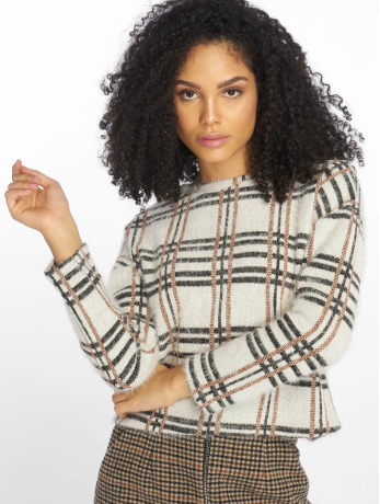 new-look-frauen-pullover-c-s-glitter-check-in-wei-