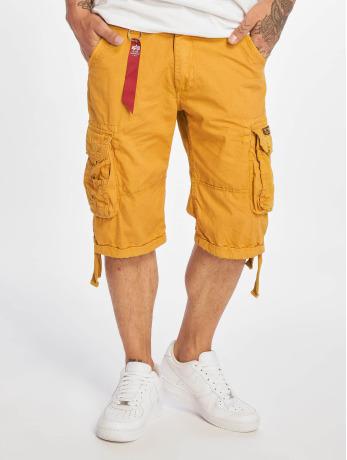 alpha-industries-manner-shorts-jet-in-gelb