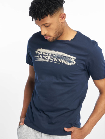 only-sons-manner-t-shirt-onsalbert-front-printed-fitted-in-blau