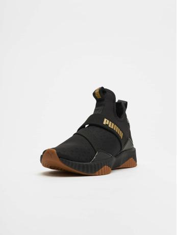 Puma / sneaker Defy Mid Sparkle in zwart