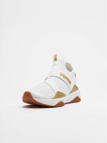 Puma / sneaker Defy Mid Sparkle in wit