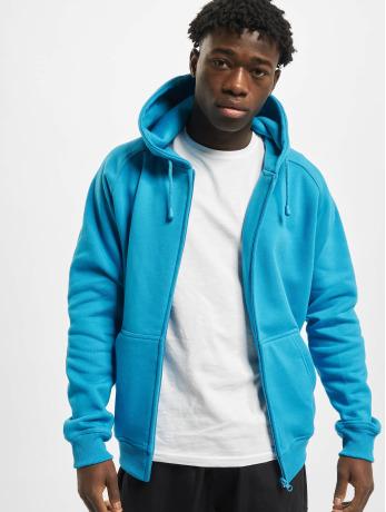 urban-classics-manner-zip-hoodie-blank-in-turkis