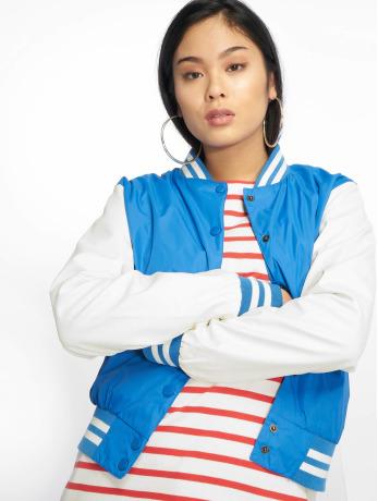 urban-classics-frauen-college-jacke-ladies-light-in-blau