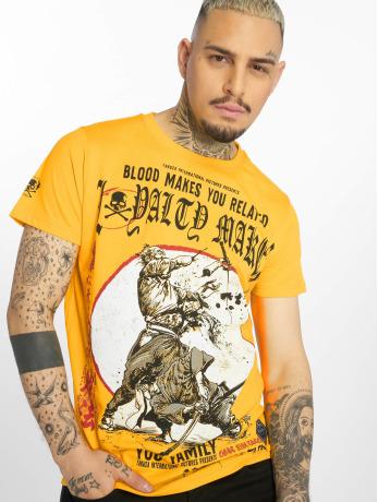 yakuza-manner-t-shirt-loyality-in-gelb