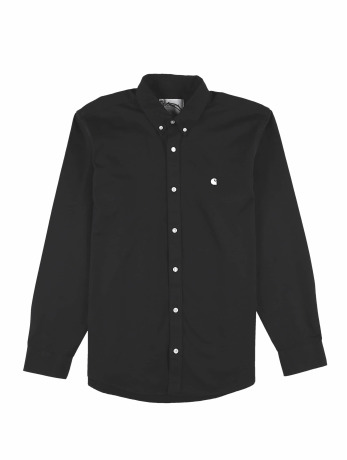 carhartt-wip-manner-hemd-madison-in-schwarz