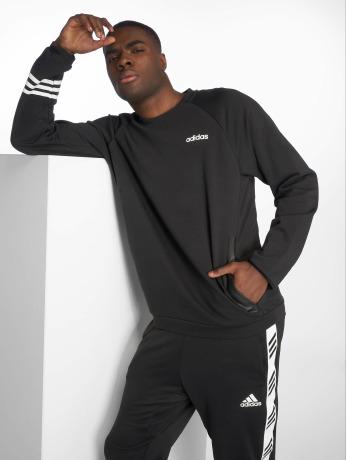 adidas-performance-manner-sportshirts-simple-in-schwarz