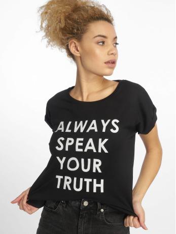 mister-tee-frauen-t-shirt-speak-truth-in-schwarz