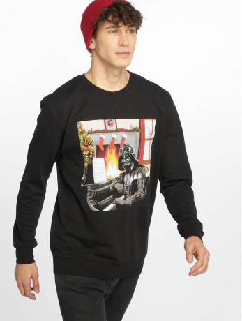 merchcode-manner-pullover-darth-vader-piano-in-schwarz