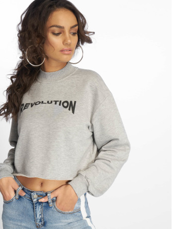 na-kd-frauen-pullover-revolution-cropped-in-grau