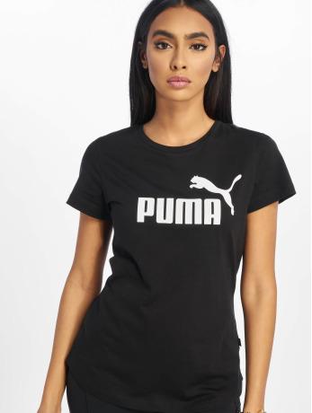 puma-performance-frauen-sportshirts-ess-logo-in-schwarz