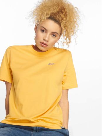 dickies-frauen-t-shirt-stockdale-in-gelb
