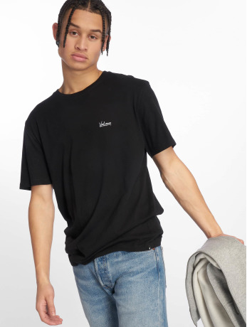 volcom-manner-t-shirt-impression-in-schwarz