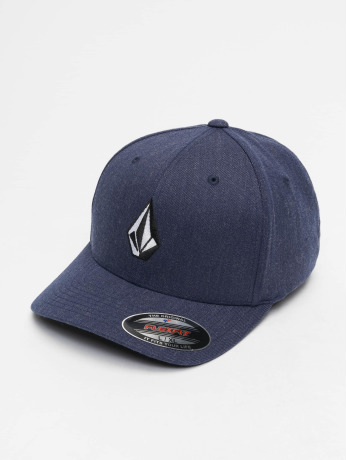 volcom-manner-frauen-flexfitted-cap-full-stone-xfit-in-blau