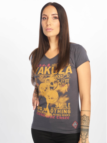 yakuza-frauen-t-shirt-burried-v-neck-in-grau