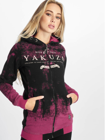 yakuza-frauen-zip-hoodie-gradient-flex-in-pink